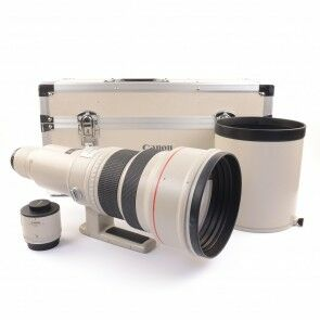 Canon EF 600mm 4.0 L USM (Non-IS) + Extender EF 2x + Case
