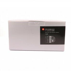 Leica 24mm f1.4 Summilux-M ASPH + Box