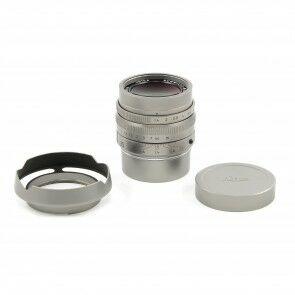 Leica 35mm f1.4 Summilux-M MK II FLE Stainless Steel Very Rare