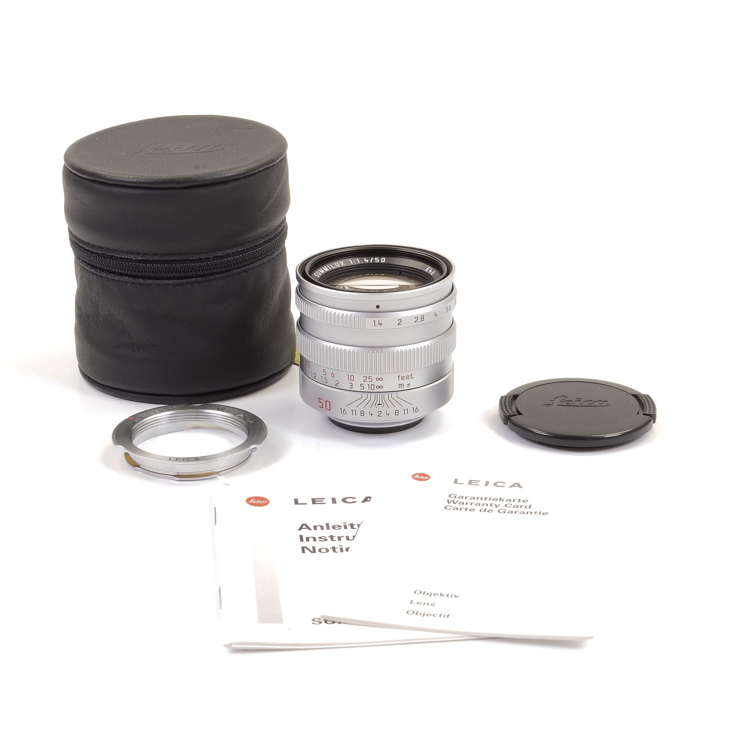 Gadget Place Silver Vented Metal Lens Hood with Cap for Leica Summilux-M 35mm f//1.4 ASPH