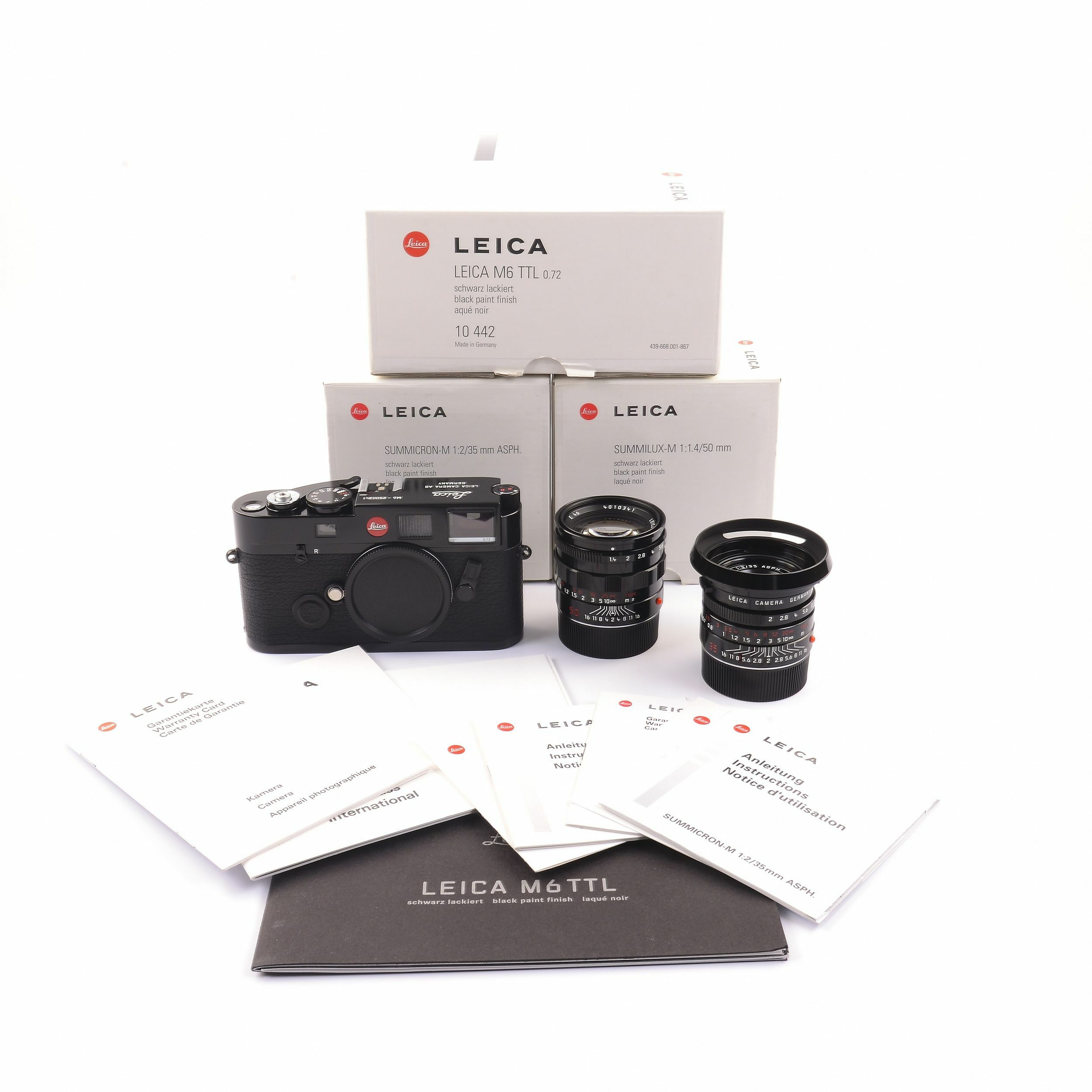 Leica M Ttl Black Paint