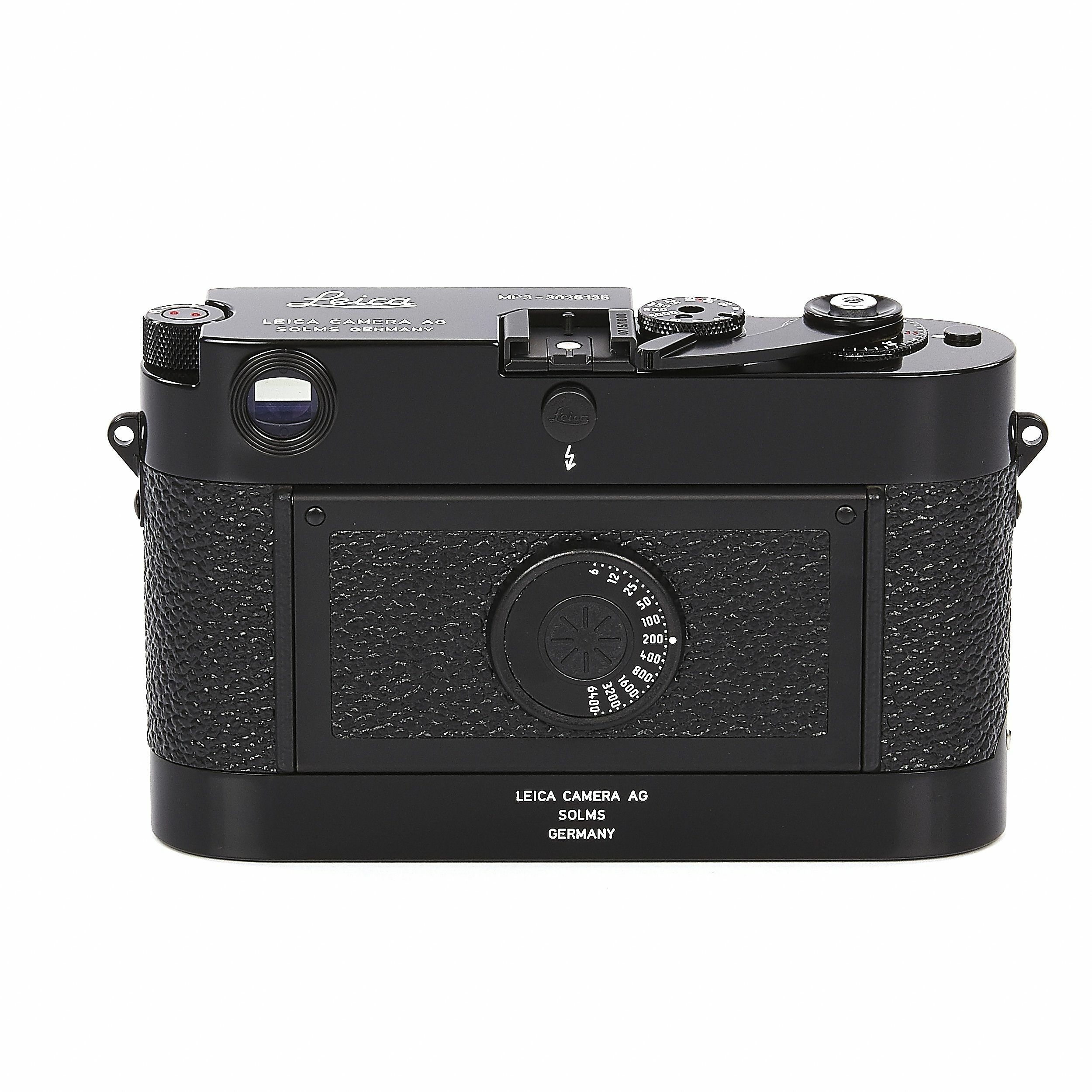 Leica Mp Lhsa Black Paint